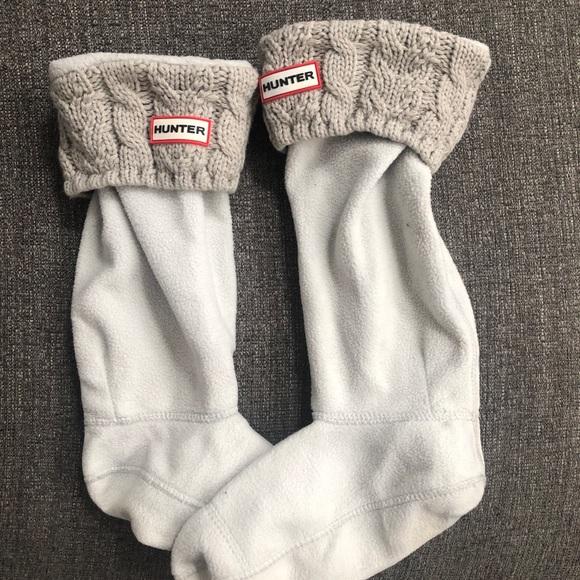 Grey knit Hunter fleece inserts